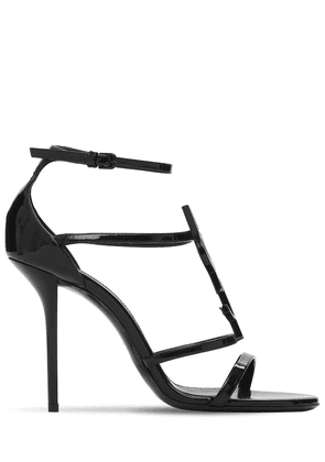 110mm Cassandra Patent Leather Sandals