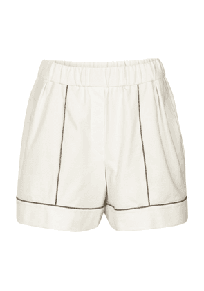 Lightweight French terry shorts