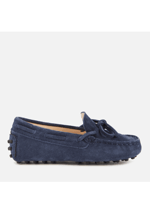 Tod's Toddlers' Suede Loafers - Navy - UK 4 Infant