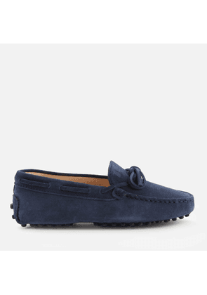 Tod's Kids' Suede Loafers - Navy - UK 10 Kids
