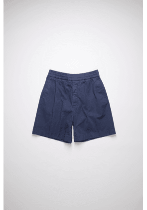 Acne Studios FN-MN-SHOR000084 Navy  Cotton twill shorts