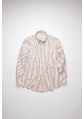 Acne Studios FN-MN-SHIR000374 Old pink Striped shirt