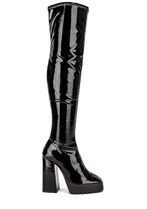Schutz Darlyn Boot in Black. Size 5.5, 6.5, 8.5.