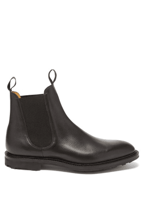 Edward Green - Newmarket Leather Chelsea Boots - Mens - Black