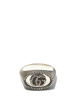 Gucci - GG Marmont Sterling-silver Ring - Mens - Silver