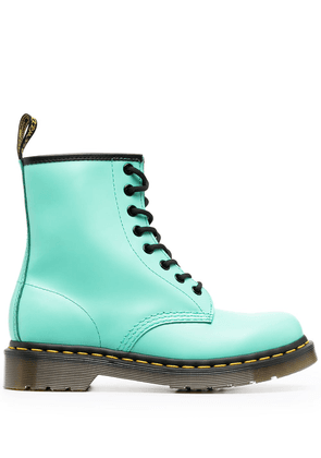 Dr. Martens 1460 lace-up leather boots - Green