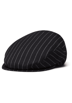 Dolce & Gabbana striped flat cap - Black
