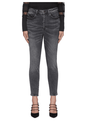 Le One' Crop Skinny Jeans