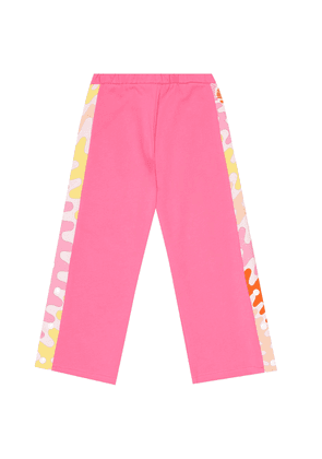 Cotton-jersey trackpants