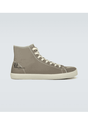Mid Tabi canvas sneakers