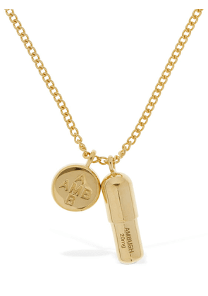 Pill Charm Long Necklace