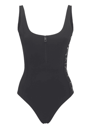 Matte Stretch Jersey One Piece Swimsuit