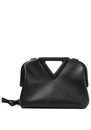 Point Medium leather shoulder bag