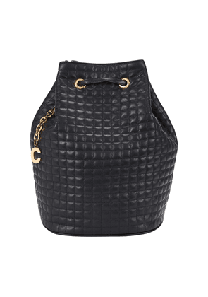 Small Backpack C Charm In Quilted Calfskin