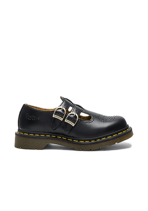 Dr. Martens 8065 Mary Jane Flat in Black. Size 6, 7, 8, 9, 10.