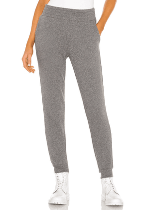Alice + Olivia Shavon Sweatpant Jogger in Charcoal. Size S.