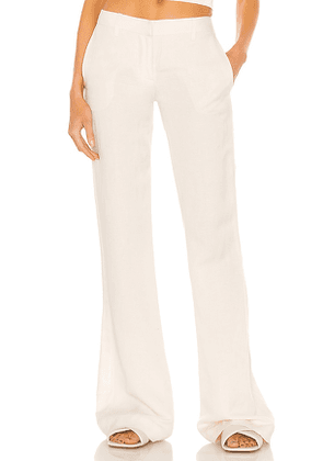 Aya Muse Winston Pant in White. Size S, M.