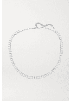Anita Ko - Shaker 18-karat White Gold Diamond Necklace