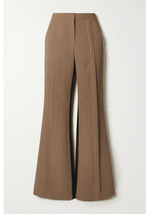 Andersson Bell - Saatchi Two-tone Twill Flared Pants - Brown