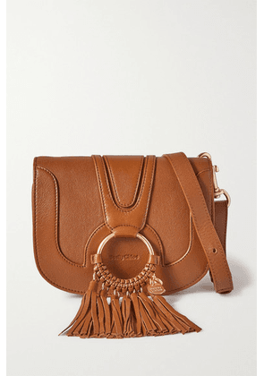 See By Chloé - Hana Textured-leather Shoulder Bag - Tan