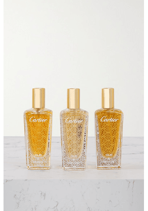 Cartier Perfumes - Les Heures Voyageuses, 3 X 15ml - Colorless