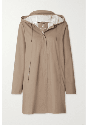 Rains - Hooded Shell Coat - Taupe
