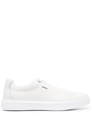 Geox leather low-top sneakers - White