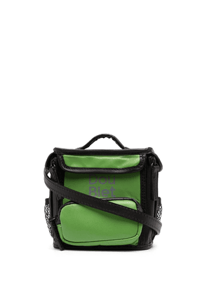 Doublet square tote bag - Green