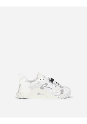 Dolce & Gabbana Shoes (24-38) - Reflective fabric NS1 sneakers WHITE male 30