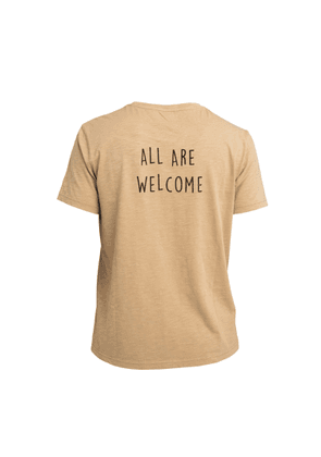 Bassigue - All Are Welcome T-shirt