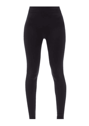 Falke - Seamless High-rise Technical Leggings - Womens - Navy