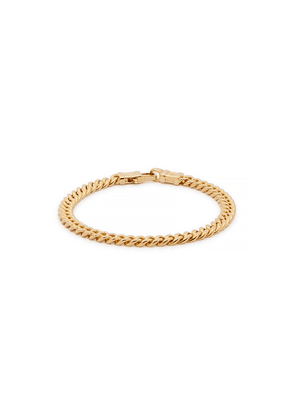 Tom Wood Curb L 9kt Gold-plated Chain Bracelet