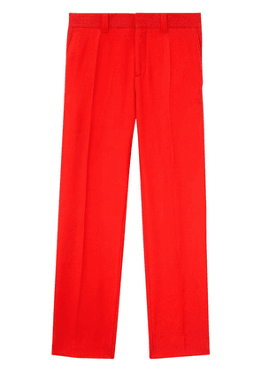 Burberry side-stripe tailored trousers