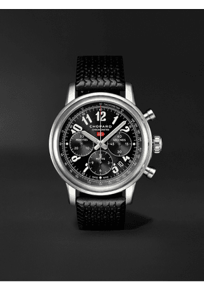 CHOPARD - Mille Miglia Classic Chronograph Automatic 42mm Stainless Steel and Rubber Watch, Ref. No. 168589-3002 - Men - Black