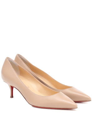 Kate 55 leather pumps