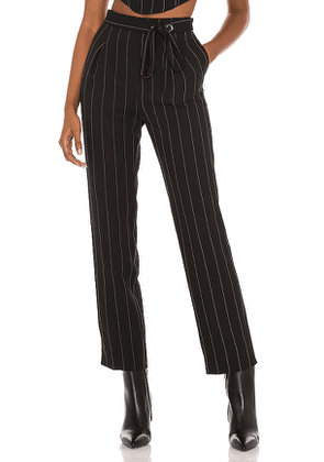 Song of Style Viola Pant in Black. Size XL.