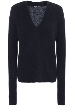 James Perse Cashmere Sweater Woman Navy Size 2