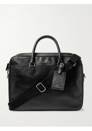 POLO RALPH LAUREN - Leather Briefcase - Men - Black