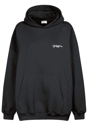 Corporate Cotton Jersey Hoodie