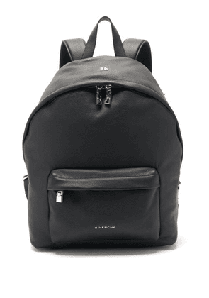 Givenchy - Double U Grained-leather Backpack - Mens - Black