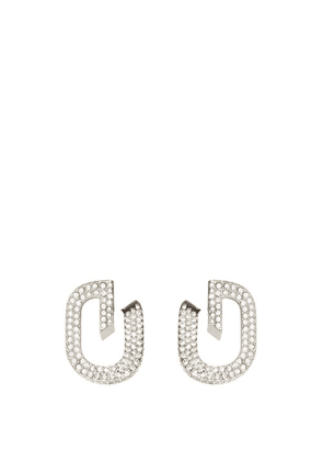 Givenchy - G-link Crystal-embellished Earrings - Womens - Crystal