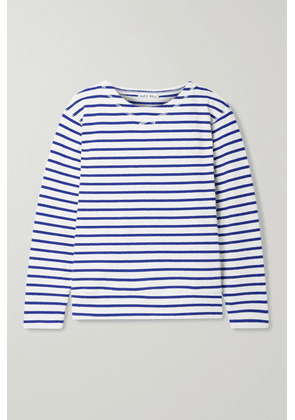 Alex Mill - Lakeside Striped Cotton-jersey Top - White