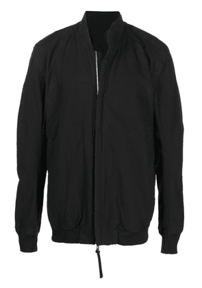 Boris Bidjan Saberi zip-up denim jacket - Black