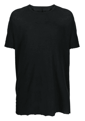 Boris Bidjan Saberi cotton T-Shirt - Black