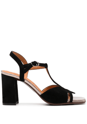 Chie Mihara cut-out detail sandals - Black