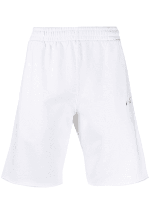 Off-White Arrows print track shorts