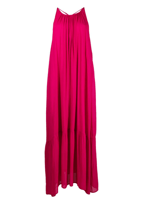 8pm open-back flared dress - Pink