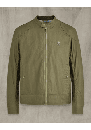 Belstaff Kelland Waxed Cotton Jacket Green UK 48 /