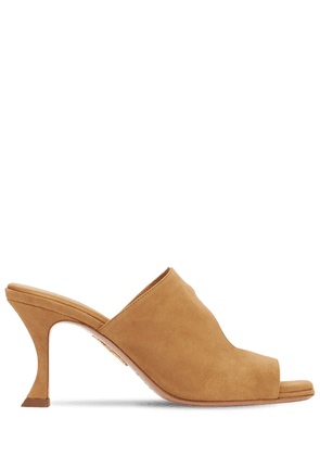 75mm Sexy Thing Suede Mules