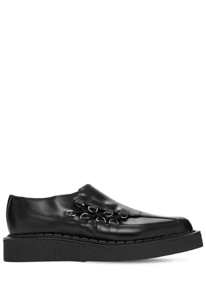 George Cox Asymmetric Leather Shoes